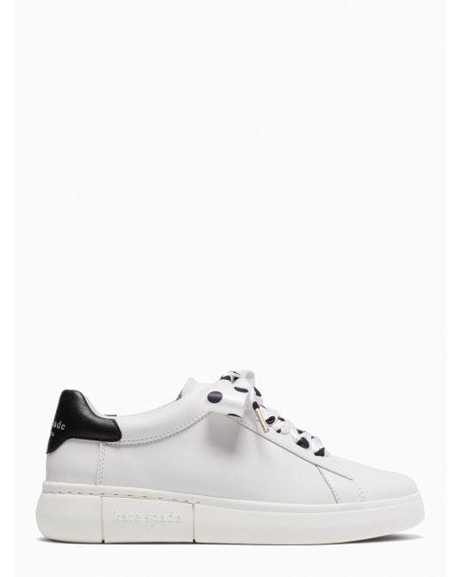 Kate Spade Lift Sneakers, Optic White/black - 9