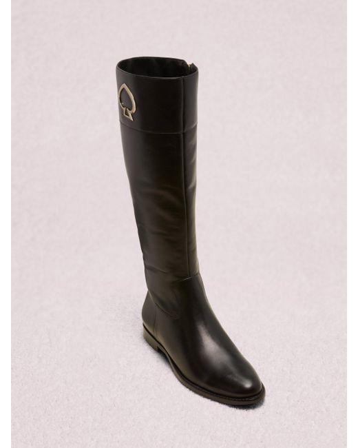 Kate Spade Black Vinna Boots
