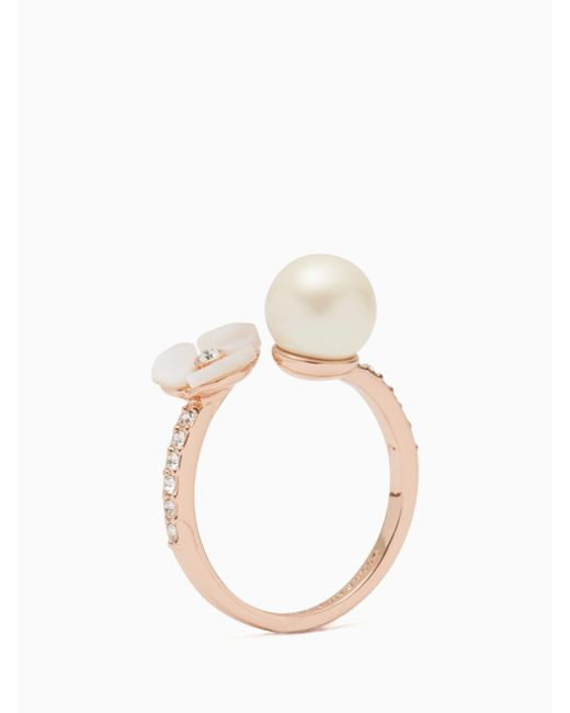 Kate Spade - Multicolor Disco Pansy Ring - Lyst