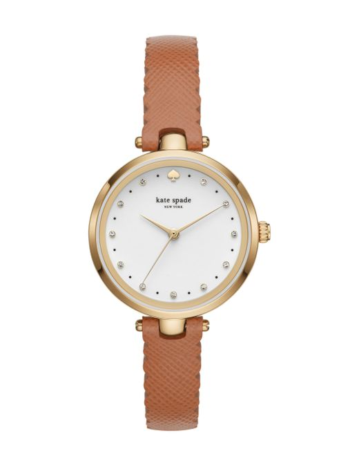 Kate Spade - Metallic Scallop Holland Watch - Lyst
