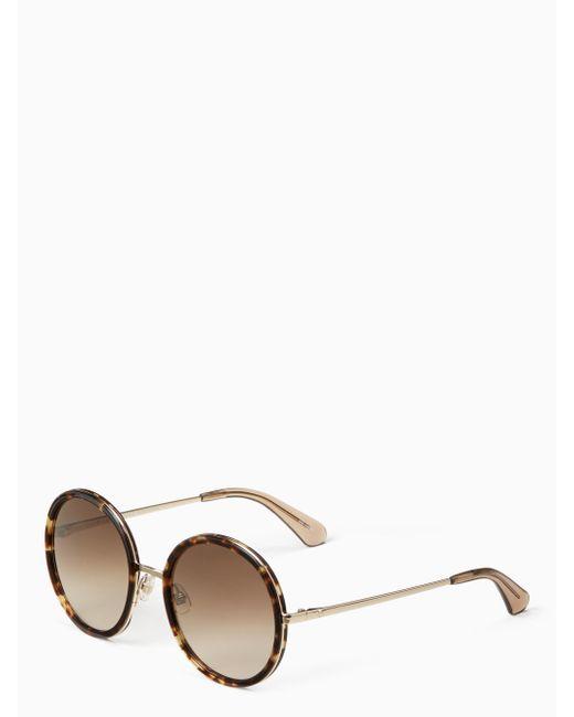 Kate Spade   Multicolor Lamonica Sunglasses   Lyst