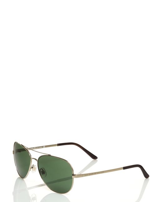 kate spade new york | Metallic Avaline Sunglasses | Lyst