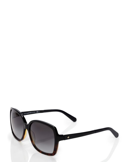 kate spade new york | Black Darilynn Sunglasses | Lyst