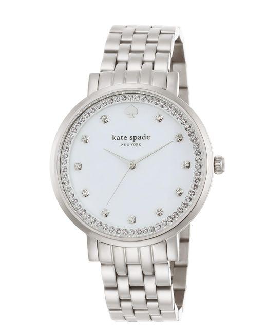 kate spade new york | Metallic Monterey Watch | Lyst