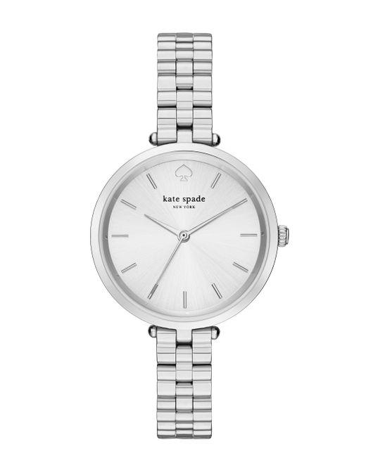 kate spade new york | Metallic Holland Skinny Bracelet Watch | Lyst
