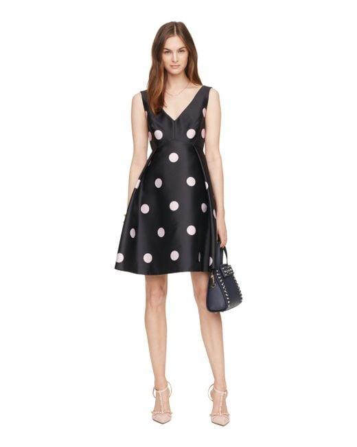 Kate Spade | Blue Spotlight V-neck Dress | Lyst
