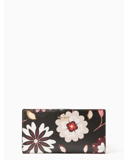 Kate Spade | Black Cameron Street Casa Flora Stacy | Lyst