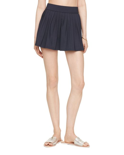 Kate Spade | Blue Georgica Beach Pleated Skirt Cover Up | Lyst
