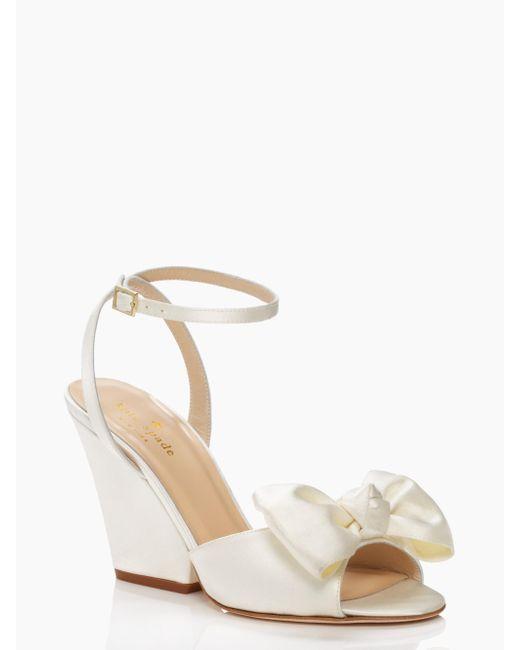 Kate Spade | White Iberis Heels | Lyst
