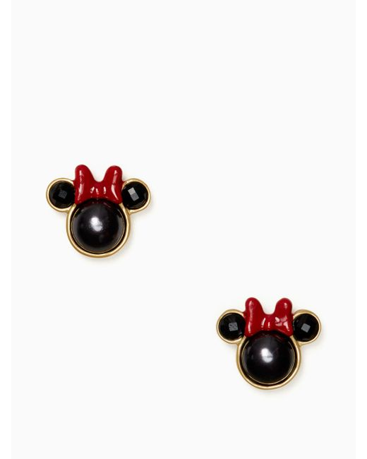 Kate Spade - Multicolor For Minnie Mouse Studs - Lyst
