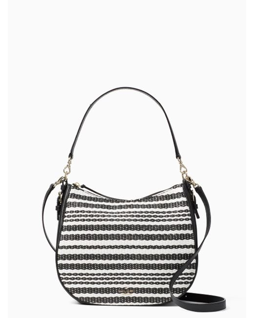 Kate Spade | Black Cobble Hill Straw Mylie | Lyst