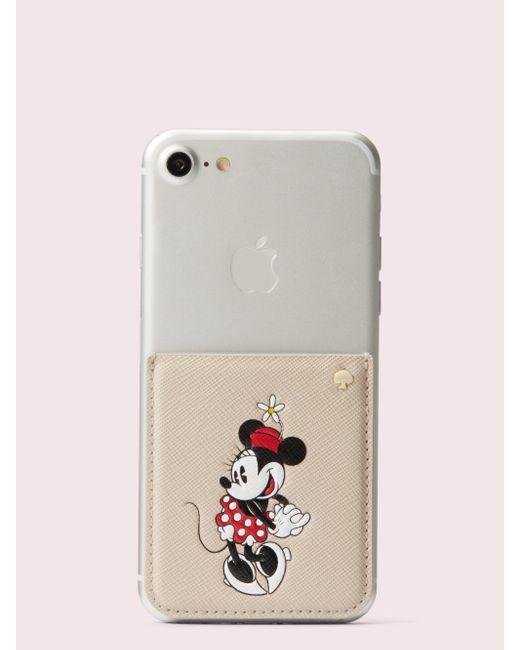 Kate Spade Multicolor New York X Minnie Mouse Sticker Pocket