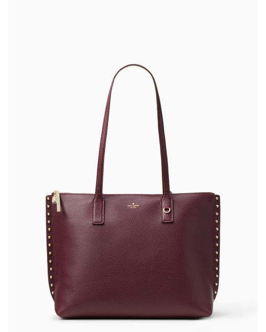 Kate Spade | Multicolor On Purpose Studded Leather Tote | Lyst