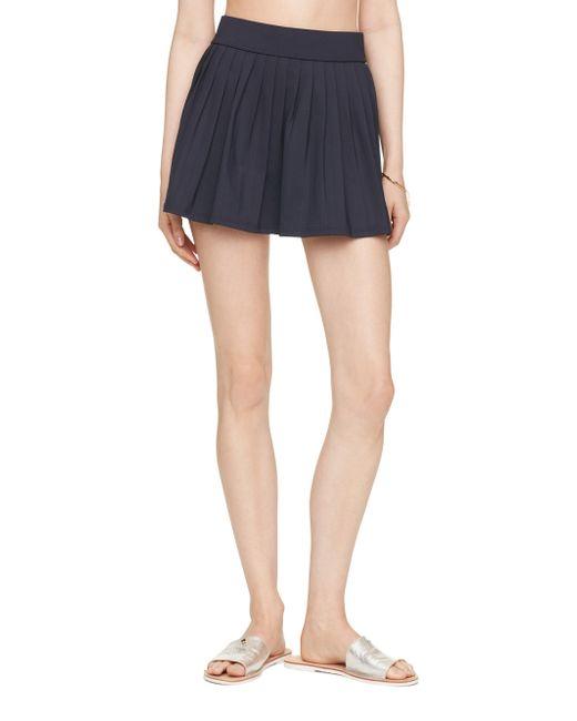 Kate Spade | Blue Georgica Beach Pleated Skirt Cover Up | Lyst