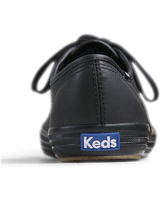 dbed912764380 ... Keds - Black Champion Originals Leather for Men - Lyst ...