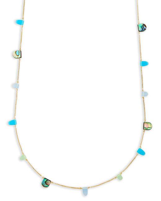 Kendra Scott - Blue Leola Long Necklace - Lyst