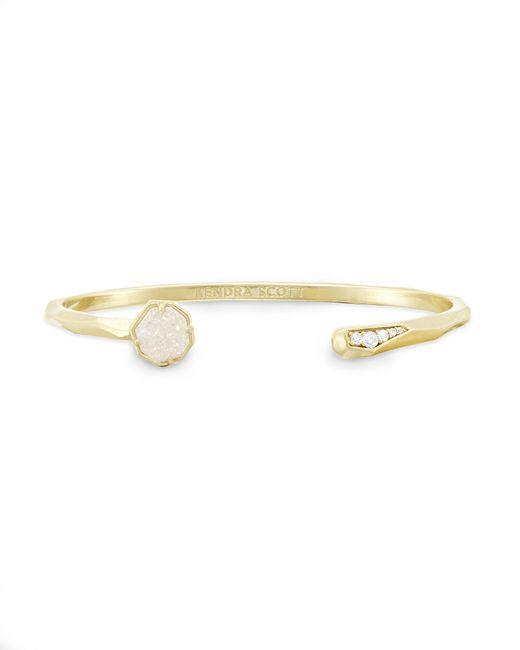 Kendra Scott - Metallic Ashlee Pinch Bracelet In Iridescent Drusy - Lyst