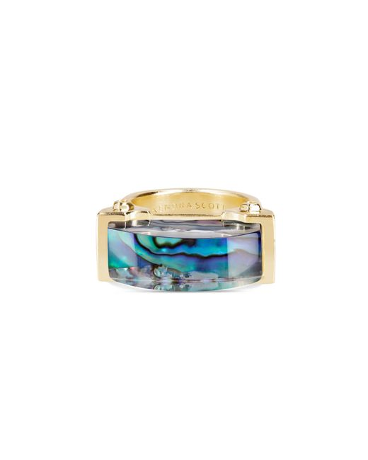 Kendra Scott - Multicolor Jeanne Cocktail Ring In Abalone Shell - Lyst