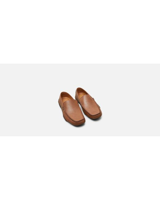 69e0272e883 ... Kenneth Cole Reaction - Brown World Champion Moc Toe Driving Loafer for  Men - Lyst ...