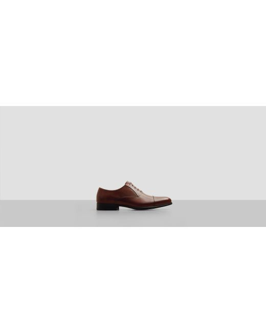 Kenneth Cole   Brown Chief Council Leather Oxford for Men   Lyst