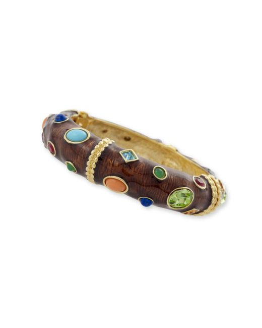 Kenneth Jay Lane | Brown & Multi-color Bracelet | Lyst