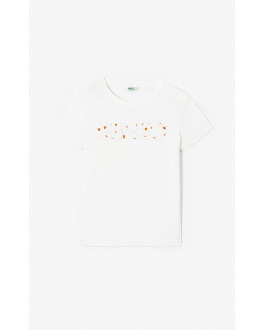 d6839c19b085 ... White KENZO - 'dots' Paris T-shirt 'high Summer Capsule Collection' ...