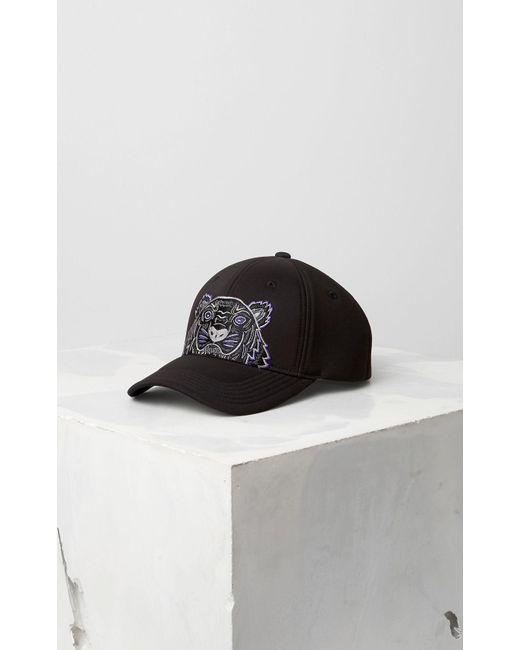 4ba4d18cdb KENZO Neoprene Tiger Cap Black in Black for Men - Save 6% - Lyst