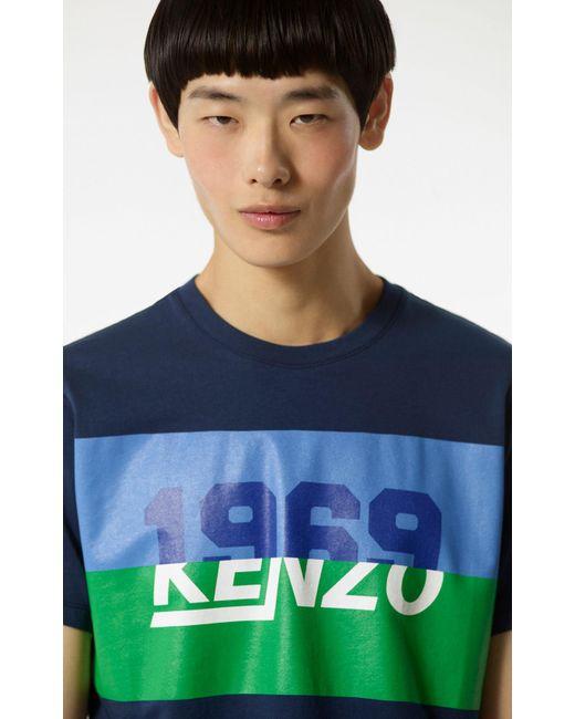 KENZO - Blue 1969 T-shirt for Men - Lyst