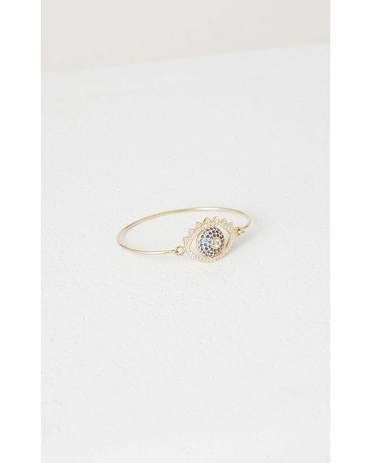 KENZO | Metallic Eye Bracelet | Lyst
