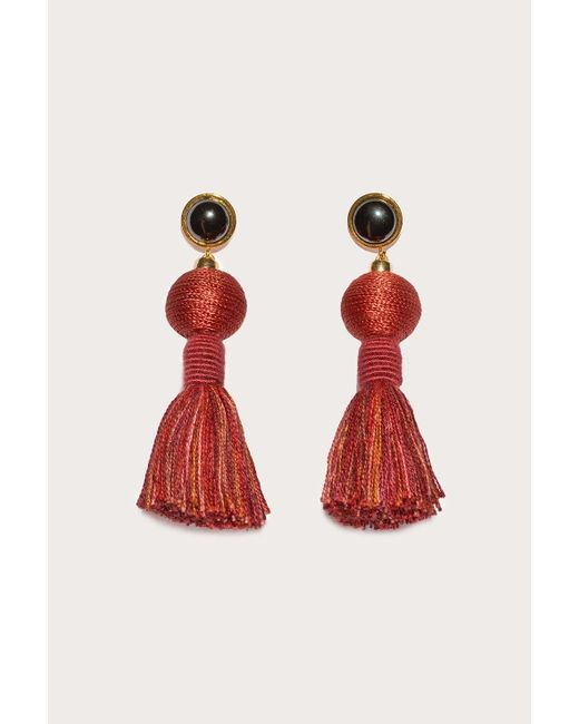 Lizzie Fortunato | Red Modern Craft Earrings | Lyst