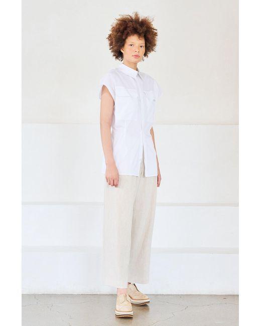 Gauchère White Tami Shirt