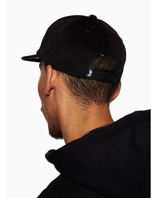 705949456ff1 ... Stussy - Black College Cord Cap for Men - Lyst