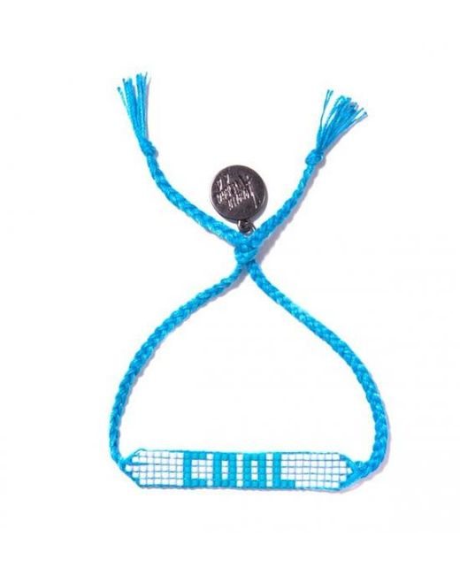 Venessa Arizaga | Blue Cool Beaded Bracelet | Lyst