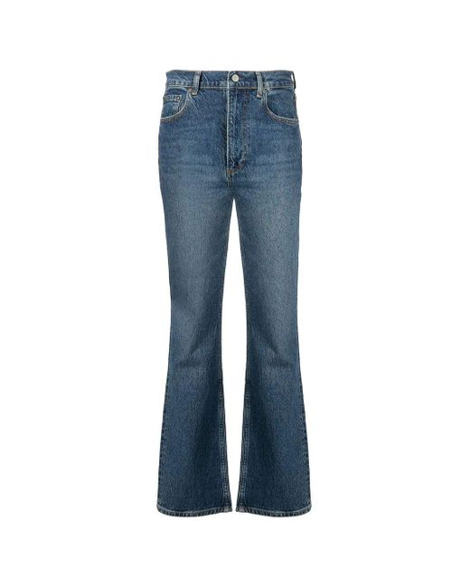 Boyish Jeans Blue Oliver High-rise Bootcut Jeans