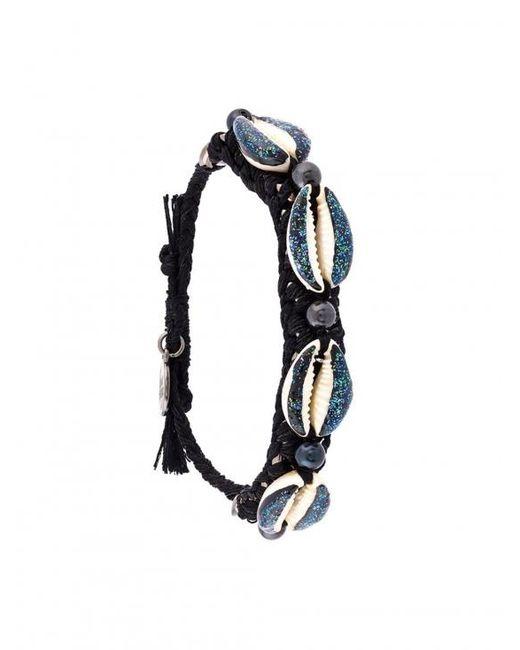 Venessa Arizaga | Multicolor Shell We Dance Bracelet - Black & Blue | Lyst
