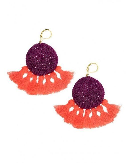 Shashi | Multicolor Lena Tassel Earrings | Lyst