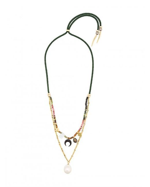 Lizzie Fortunato | Metallic Sahara Charm Necklace | Lyst