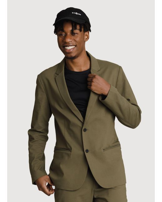 Kit and Ace - Green Navigator Stretch Blazer 2.0 for Men - Lyst