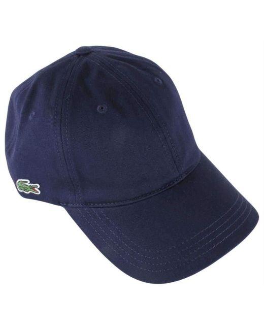 Lacoste Blue Classic Cap for men