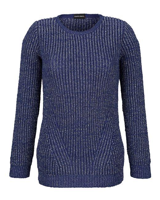 Laura Kent Blue Pullover