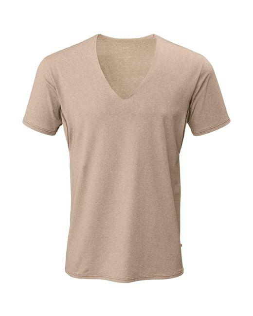 Calida Business Shirt mit Frackschnitt, clean cut in Natural für Herren