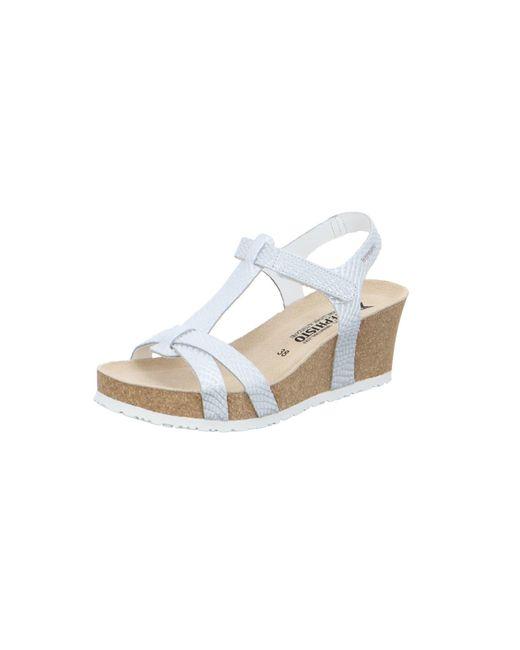 Mephisto White Sandalen/Sandaletten weiß
