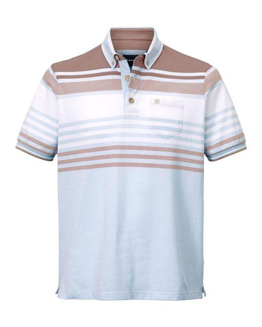 Babista Poloshirt Blau::Weiß in Blue für Herren