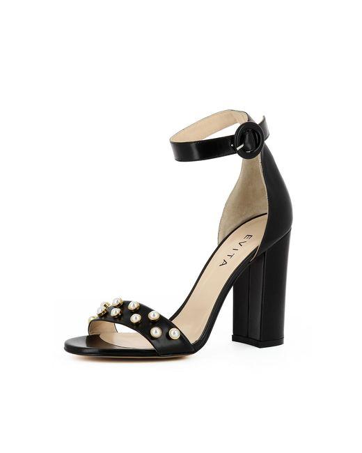 Evita Black Damen Sandalette EVA