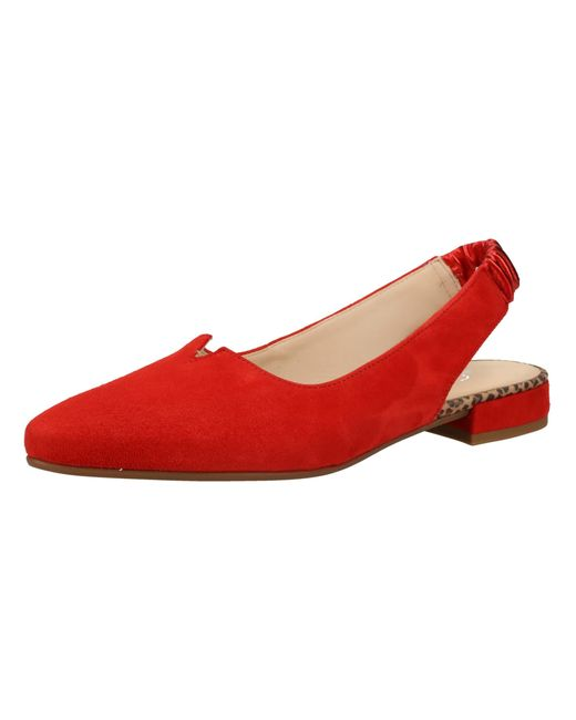 Gabor Red Pumps