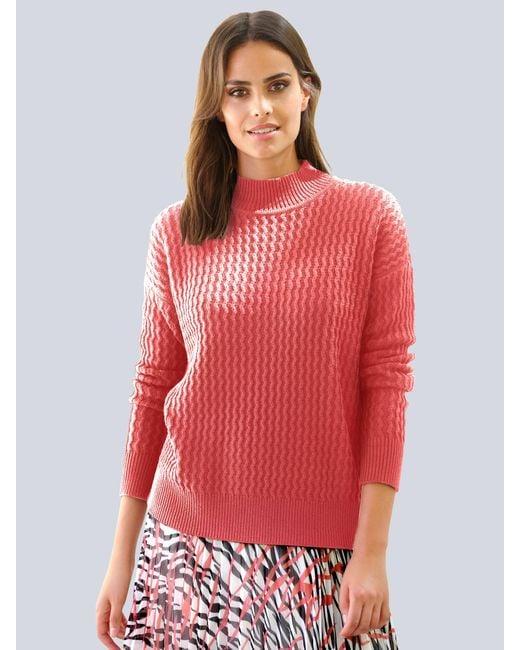 Alba Moda Trui in het Pink