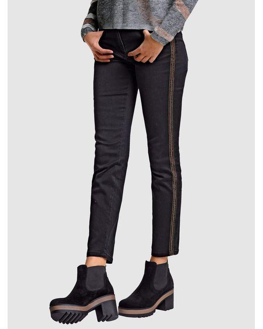 Alba Moda Jeans in het Black