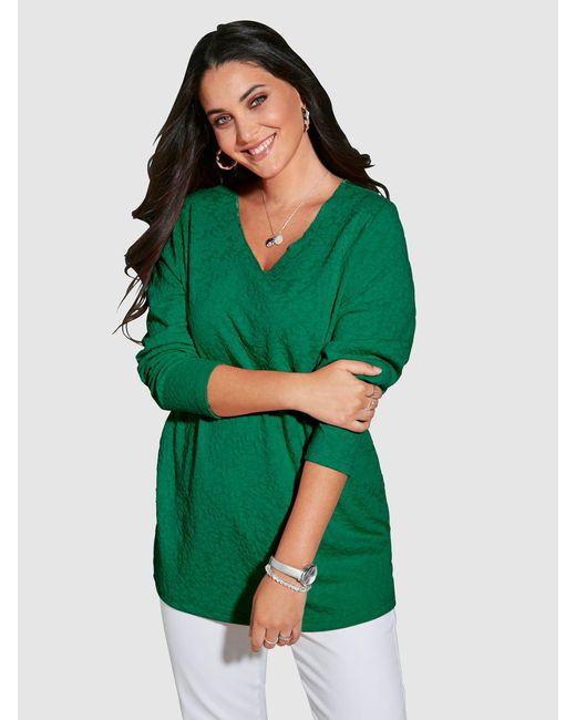 MIAMODA Sweatshirt in het Green