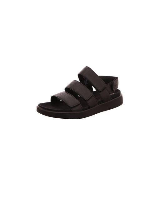 Ecco Black Sandalen/Sandaletten