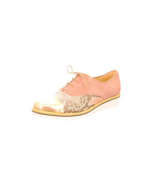 Gabor Pink Schnürschuhe